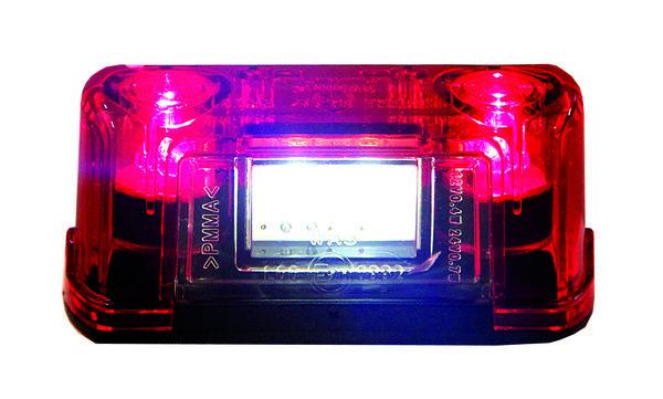 LED numbri-/ääretuli
