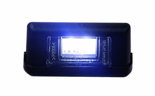 LED-numbrituli must