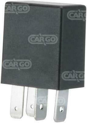 Micro relee 12V 25A 4-kl.